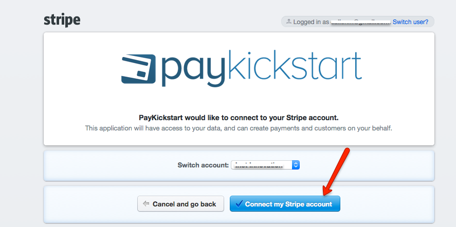 Integrating Stripe to Accept Payments - PayKickstart Support