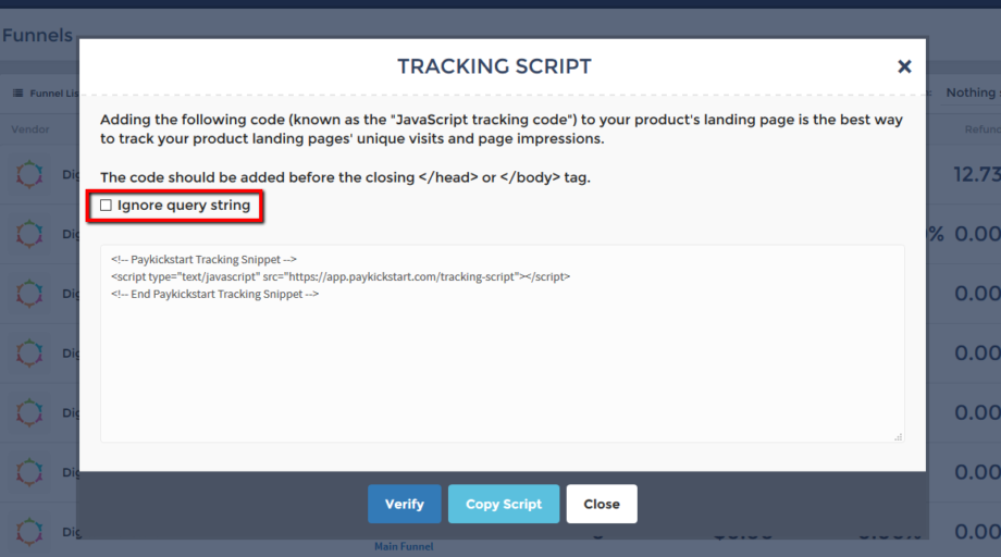 funnels-tracking-ignore-query-string