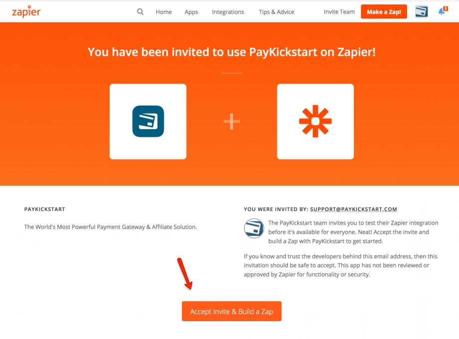 Integrating Zapier with PayKickstart - PayKickstart Support